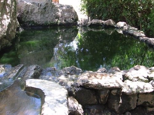 Ein Sarig, Hiking the springs trail near jerusalem