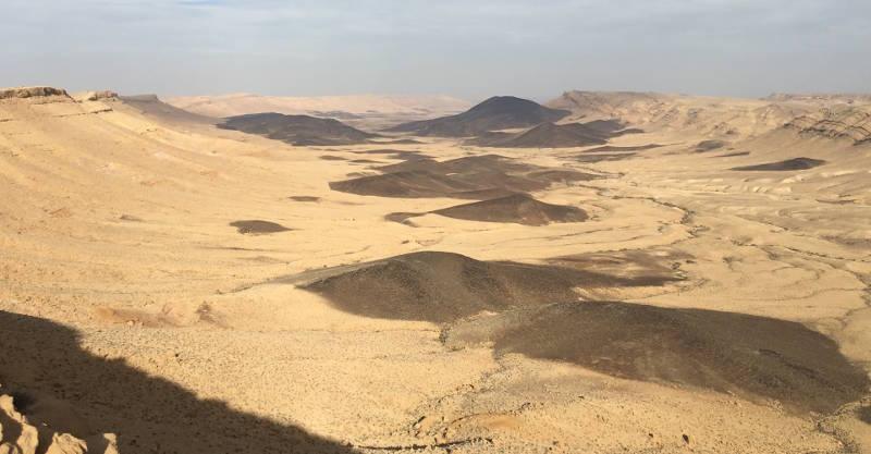 Karne Ramon view from Mounr Ramon shot Hike