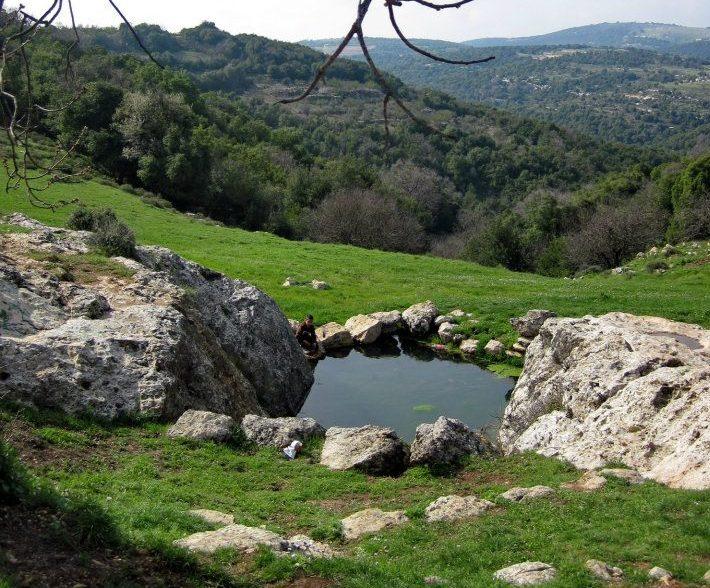 Ein Hazken Spring, Galilee, Israel