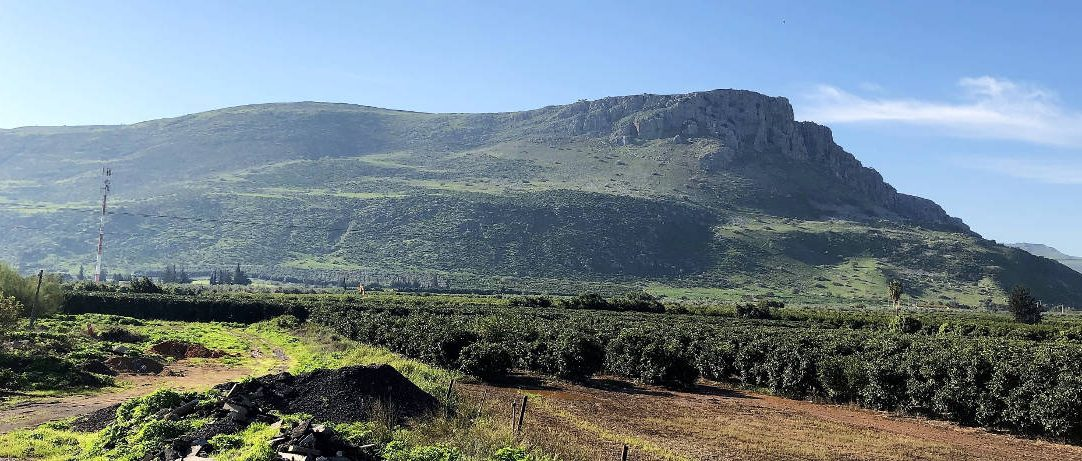 Mount Arbel view from the valley