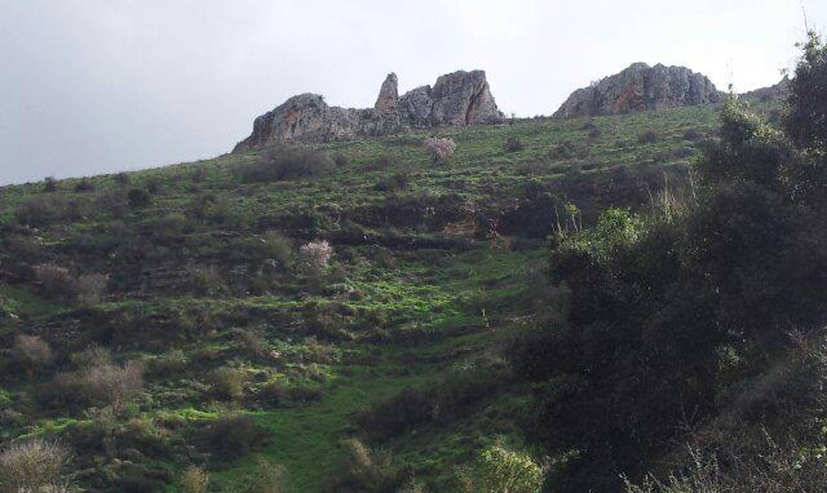 Cliffs in Nahal Dishon