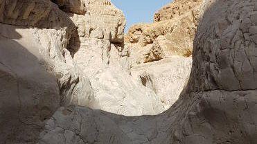 Upper wadi Rahaf, judean desert, israel