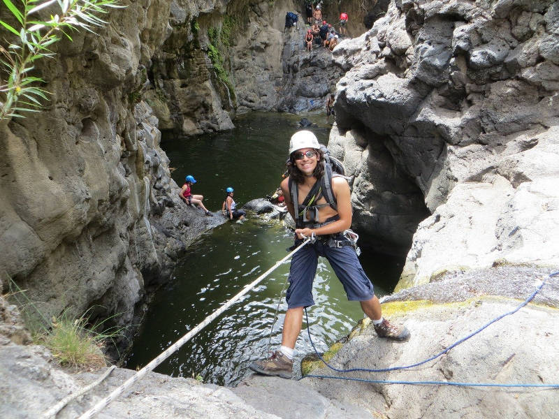 Canyoning in the Zavitan - Golan Heights Israel