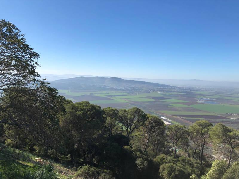 Jezreel Valley - Sight of the battle of Deborah the Profit