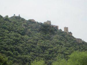 Monfort fortress above Nahal Kziv