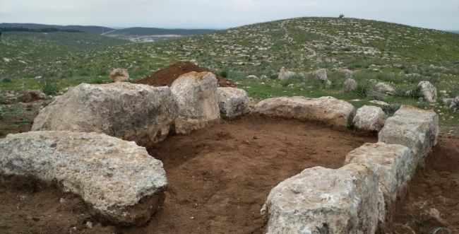 Watch tower from the 9th century BCE in southern Israel