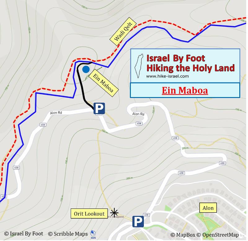 Ein Maboa Map