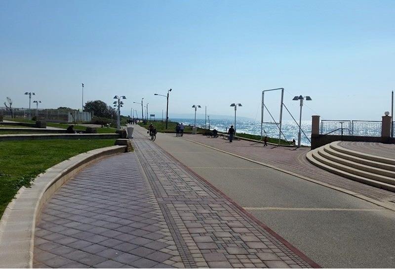 Nahariya. The start of the Sea to Sea trek