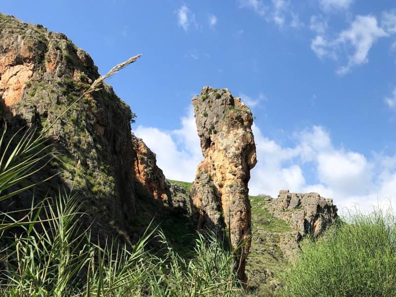 The pilar in Amud stream