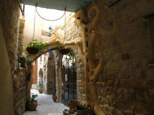 Old quarter in Safed