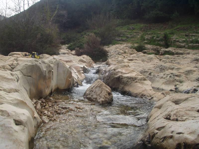 Ein Tamir in Kziv Stream