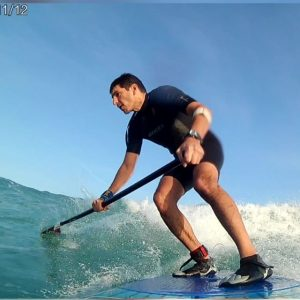 Sup wave riding haifa israel